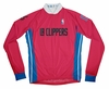 Los Angeles Clippers Away Long Sleeve Cycling Jersey Free Shipping