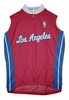 Los Angeles Clippers Away Sleeveless Cycling Jersey Free Shipping