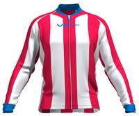 Los Angeles Clippers Striped Long Sleeve Cycling Jersey