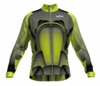 Los Angeles Galaxy Lime Keeper Long Sleeve Cycling Jersey