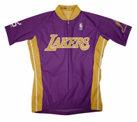 Los Angeles Lakers Away Cycling Jersey