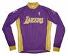 Los Angeles Lakers Away Long Sleeve Cycling Jersey Free Shipping