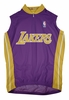 Los Angeles Lakers Away Sleeveless Cycling Jersey