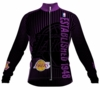 Los Angeles Lakers Retro Long Sleeve Cycling Jersey