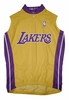 Los Angeles Lakers Sleeveless Cycling Jersey Free Shipping