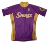 Los Angeles Sparks Away Short Sleeve Cycling Jersey