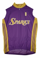 Los Angeles Sparks Away Sleeveless Cycling Jersey