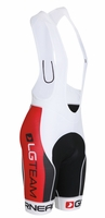 Louis Garneau Equipe Team White BibShorts Free Shipping