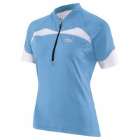 Louis Garneau Women Skin-X Flash Blue Cycling Jersey Free Shipping