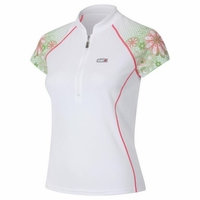 Louis Garneau Women Verano White Cycling Jersey Free Shipping