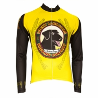 Lucky Labrador Classic Men's Long Sleeve Cycling Jersey