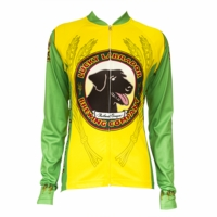Lucky Labrador Classic Women's Long Sleeve Cycling Jersey