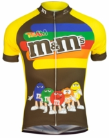 M&M's Stripe Men's Cycling Jersey