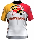 Maryland Crab White Cycling Jersey