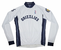 Memphis Grizzlies Long Sleeve Cycling Jersey Free Shipping