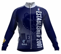 Memphis Grizzlies Retro Long Sleeve Cycling Jersey