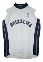 Memphis Grizzlies Sleeveless Cycling Jersey Free Shipping