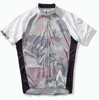 Meshed Up Olive Men's Cycling Jersey