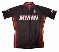 Miami Heat Away Cycling Jersey