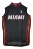 Miami Heat Away Sleeveless Cycling Jersey Free Shipping