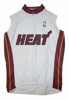 Miami Heat Sleeveless Cycling Jersey Free Shipping