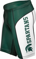 Michigan State Spartans Cycling Shorts