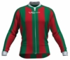 Milwaukee Bucks Striped Long Sleeve Cycling Jersey