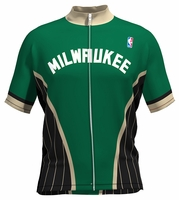 Milwaukee Bucks Wind Star Cycling Jersey