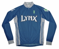 Minnesota Lynx Away Long Sleeve Cycling Jersey