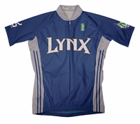 Minnesota Lynx Away Short Sleeve Cycling Jersey