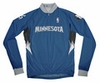 Minnesota Timberwolves Away Long Sleeve Cycling Jersey Free Shipping