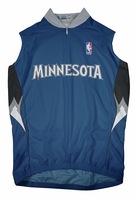 Minnesota Timberwolves Away Sleeveless Cycling Jersey