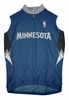 Minnesota Timberwolves Away Sleeveless Cycling Jersey Free Shipping