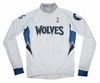Minnesota Timberwolves Long Sleeve Cycling Jersey Free Shipping
