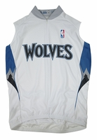 Minnesota Timberwolves  Sleeveless Cycling Jersey Free Shipping