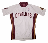 NBA Cleveland Cavaliers Men's Short Sleeve Home Cycling Jersey