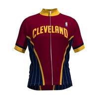 NBA Cleveland Cavaliers Men's Wind Star Short Sleeve Cycling Jersey