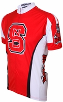 NC State Wolfpack Cycling Jersey Free Shipping