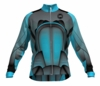 New England Revolution Aqua Keeper Long Sleeve Cycling Jersey