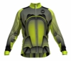 New England Revolution Lime Keeper Long Sleeve Cycling Jersey