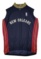 New Orleans Pelicans Away Sleeveless Cycling Jersey