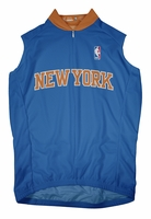 New York Knicks Away Sleeveless Cycling Jersey