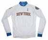 New York Knicks Long Sleeve Cycling Jersey Free Shipping
