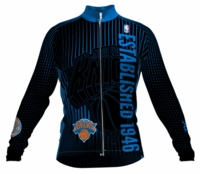 New York Knicks Retro Long Sleeve Cycling Jersey