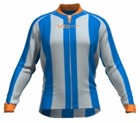 New York Knicks Striped Long Sleeve Cycling Jersey