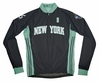 New York Liberty Away Long Sleeve Cycling Jersey