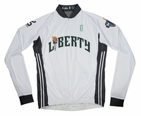 New York Liberty Home Long Sleeve Cycling Jersey