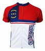 North Carolina Flag Cycling Jersey