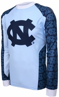 North Carolina Tarheels Long Sleeved Bike Jersey
