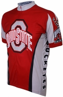Ohio State University Buckeyes Cycling Jersey Free Shipping
